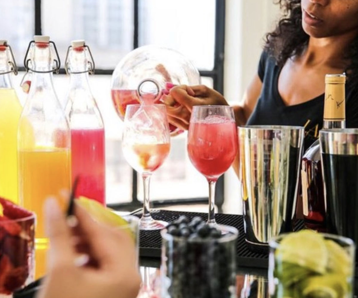 Mocktail parties, Mixology classes, Champagne & Mimosa bar,